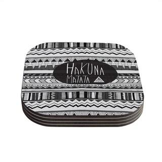 Vasare Nar 'Hakuna Matata' Coasters (Set of 4)