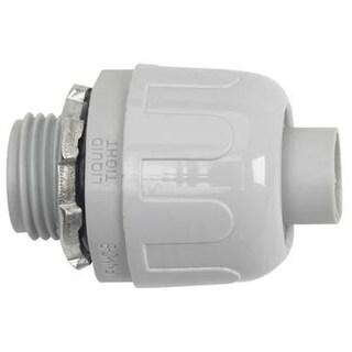 """Halex 97622 3/4"""" Nylon Quick Set NM Liquid Tight Connector"""