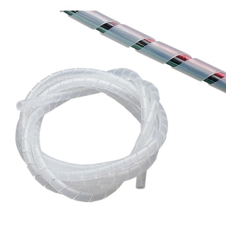"GB Gardner Bender 73452 1/2"" X 6' Clear Spiral Wrap"