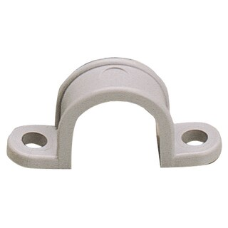 "GB Gardner Bender GCC-310 1"" Two Hole Plastic Straps 10-count"