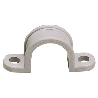 "GB Gardner Bender GCC-410 1-1/4"" Two Hole Plastic Straps 10-count"
