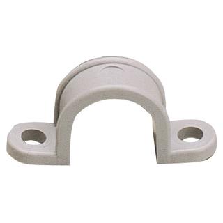 "GB Gardner Bender GCC-410 1-1/4"" Two Hole Plastic Straps 10-count"