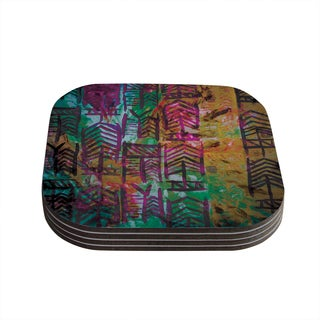 Theresa Giolzetti 'Quiver IV' Coasters (Set of 4)
