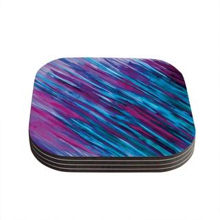 Theresa Giolzetti 'Purple' Coasters (Set of 4)