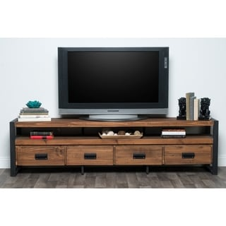 Kosas Home Brenda Reclaimed Pine 4-drawer TV Stand