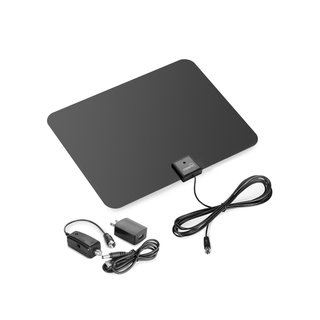 Amplified 50- or 60-mile Range HDTV Antenna