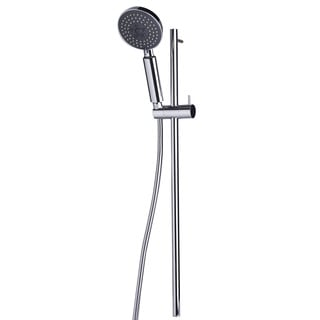 ALFI brand Polished Chrome Sliding Rail Hand-held Shower