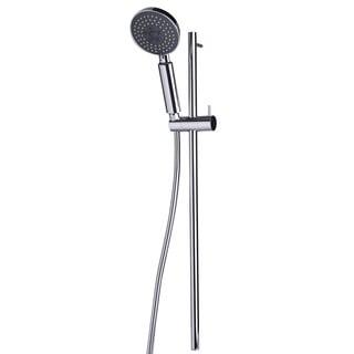 ALFI brand Polished Chrome Sliding Rail Hand-held Shower