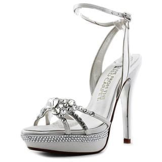 E. Live From The Red Carpet Women's 'Lola' Satin Sandals