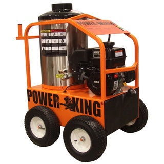 PowerKing Hot 2700 Pounds per Square Inch, 3 Gallons per Minute Pressure Washer
