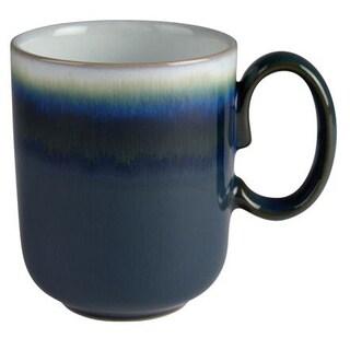 Denby 10-ounce Green Stoneware Greenwich Double-Dip Mug