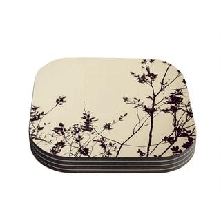 Skye Zambrana 'Silhouette' Coasters (Set of 4)