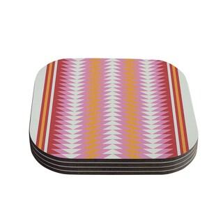 Skye Zambrana 'Bomb Pop' Coasters (Set of 4)
