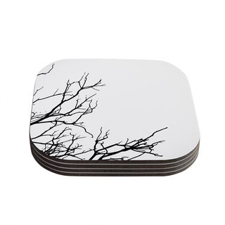 Skye Zambrana 'Winter' Coasters (Set of 4)