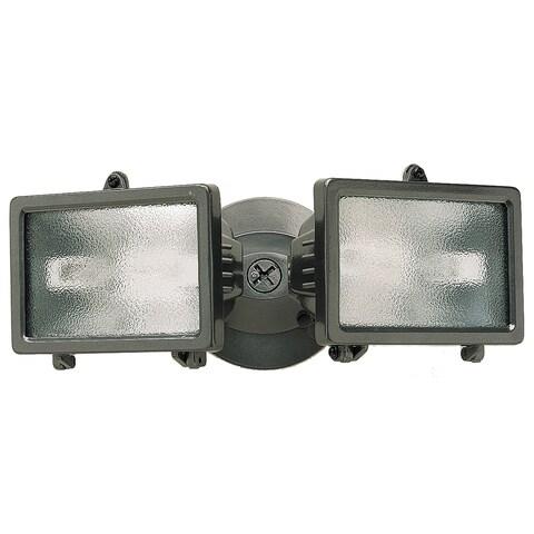 Heathco HZ-5502-BZ 150 Watt Bronze Twin Halogen Flood Light