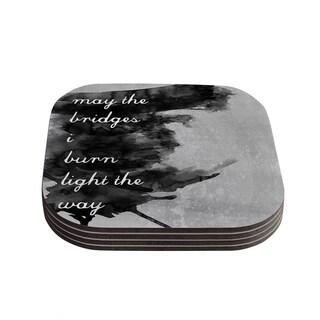 Skye Zambrana 'Bridges' Coasters (Set of 4)