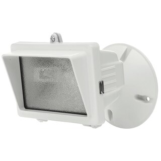 Designers Edge L56WH 150 Watt White Mini Halogen Flood Light