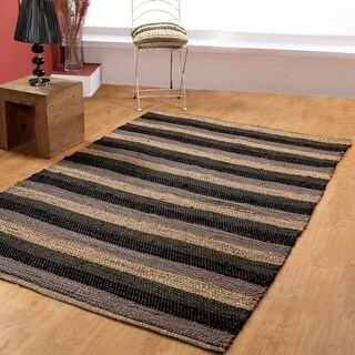 Hand-woven Jute Area Rugs (5' x 8')