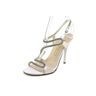 E. Live From The Red Carpet Women's 'Wallis' Satin Sandals
