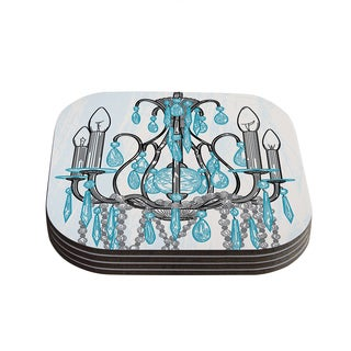 Sam Posnick 'Chandelier' Coasters (Set of 4)
