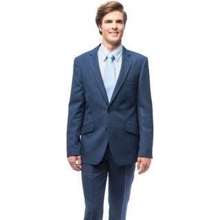 Men's Blue Slim Fit Suit