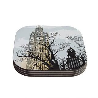 Sam Posnick 'Big Ben' Coasters (Set of 4)