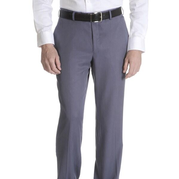 Daniel Hechter Men's Tencel Modern Fitted Suit Pants