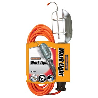 Coleman Cable 00681 25' 18/3 Metal Ground Work Light