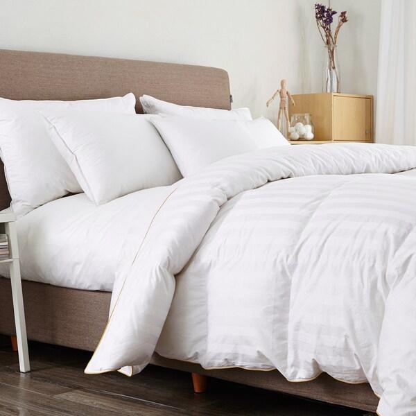 Puredown 600 Fill Power White Goose Down Comforter
