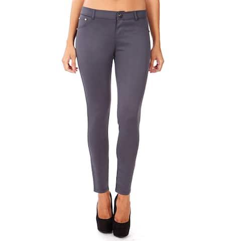 Dinamit Women's Form Fitting Stretchy Legging Pants