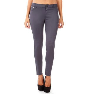 Dinamit Women's Form Fitting Stretchy Legging Pants|https://ak1.ostkcdn.com/images/products/11777866/P18689792.jpg?impolicy=medium