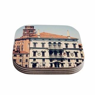 Sylvia Coomes 'Venice 6' Travel Coastal Coasters (Set of 4)