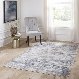 Besham Abstract Area Rug (2'3 x 7'6)