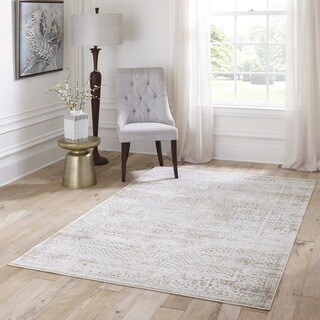 Machine Made Daska Polypropylene & Viscose Rug (2'3 x 7'6)