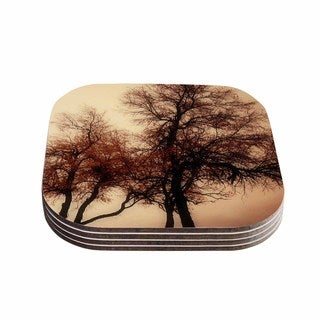 Sylvia Coomes 'Rust Trees' Photography Nature Coasters (Set of 4)