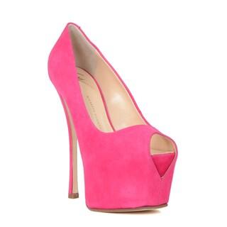 Giuseppe Zanotti Women's Pink Pump