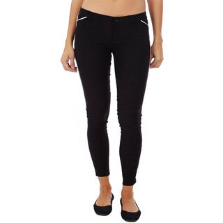 Dinamit Black and White Cotton Lyrca Legging Pants