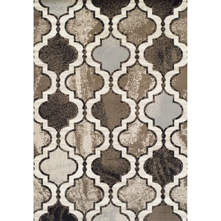 Machine-made Arbor Multi Olefin Rug (5'2 x 7'7)