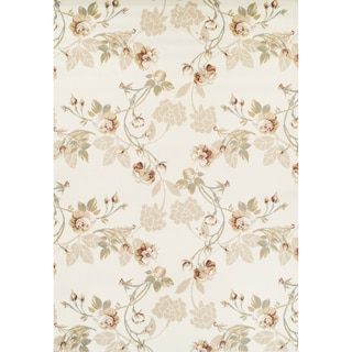 Achim Ferrera Collection Lily Tan Olefin Machine-made Rug (5'2 x 7'7)