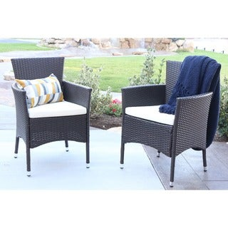 angelo:HOME Rattan Patio Dining Chairs (Set of 2)