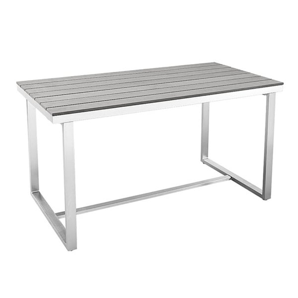Grey All Weather Dining Table   Free Shipping Today   Overstock.com    18689820