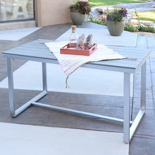 Carbon Loft Ostriker Grey All-weather Outdoor Dining Table