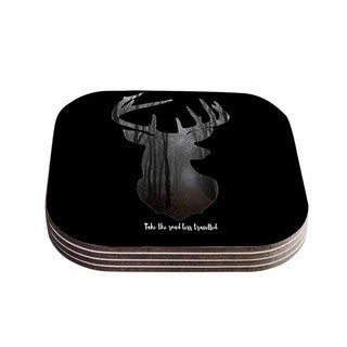 Suzanne Carter 'The Road' Contemporary Nature Coasters (Set of 4)