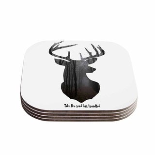Suzanne Carter 'The Road2' Contemporary Nature Coasters (Set of 4)