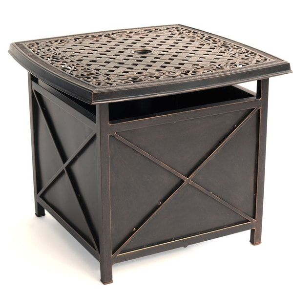 Cast Aluminum Round Large Coffee Table - Patio Furniture from Cabana ...