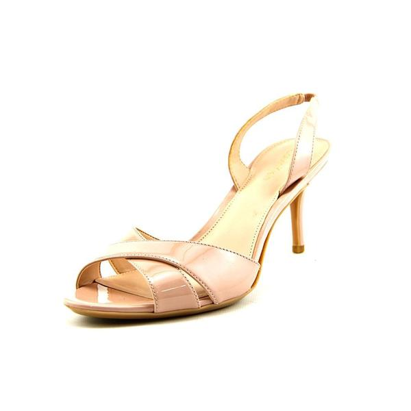 16ffca10f3b Shop Calvin Klein Women s  Lucette  Patent Leather Sandals - Free ...