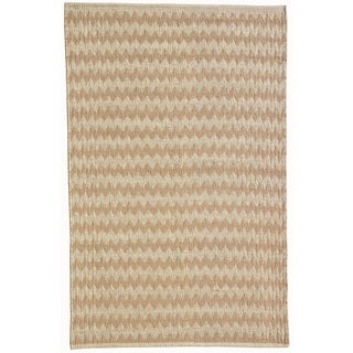 Acura Homes Desert Oasis Natural Bleach Hand-woven Jute Rug (6' x 9')