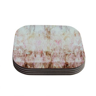 Kess InHouse Suzanne Carter 'Florian' Pink Coasters (Set of 4)