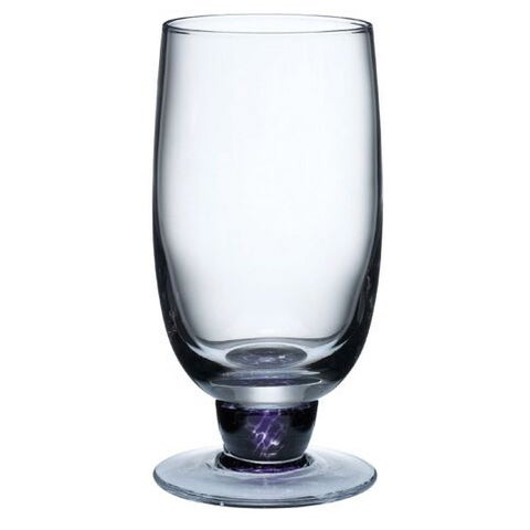 Denby Amethyst Glass 16-ounce Large Tumbler 2-pack