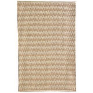 Hand Woven Desert Oasis Natural Bleach Jute Rug (4' x 6')